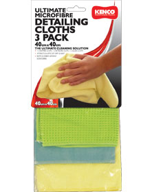 Kenco Cleaning Detailing Cloth