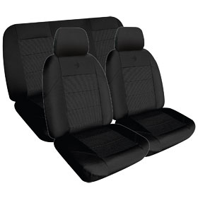Car Seat Covers Elite Black Size 202