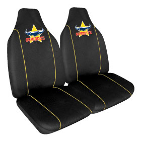 Car Seat Covers NRL North Qld Cowboys