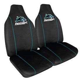 Car Seat Covers NRL Penrith Panthers