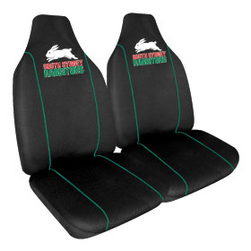 Car Seat Covers NRL South Sydney Rabbitohs