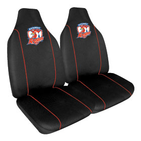 Car Seat Covers NRL Sydney Roosters