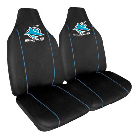 Car Seat Covers NRL Cronulla Sharks