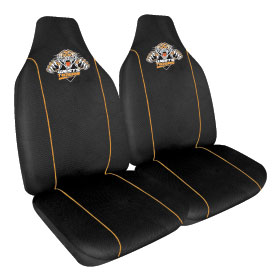 Car Seat Covers NRL Wests Tigers