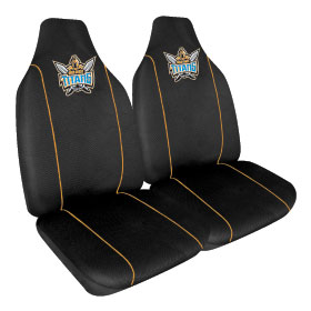 Car Seat Covers NRL Gold Coast Titans